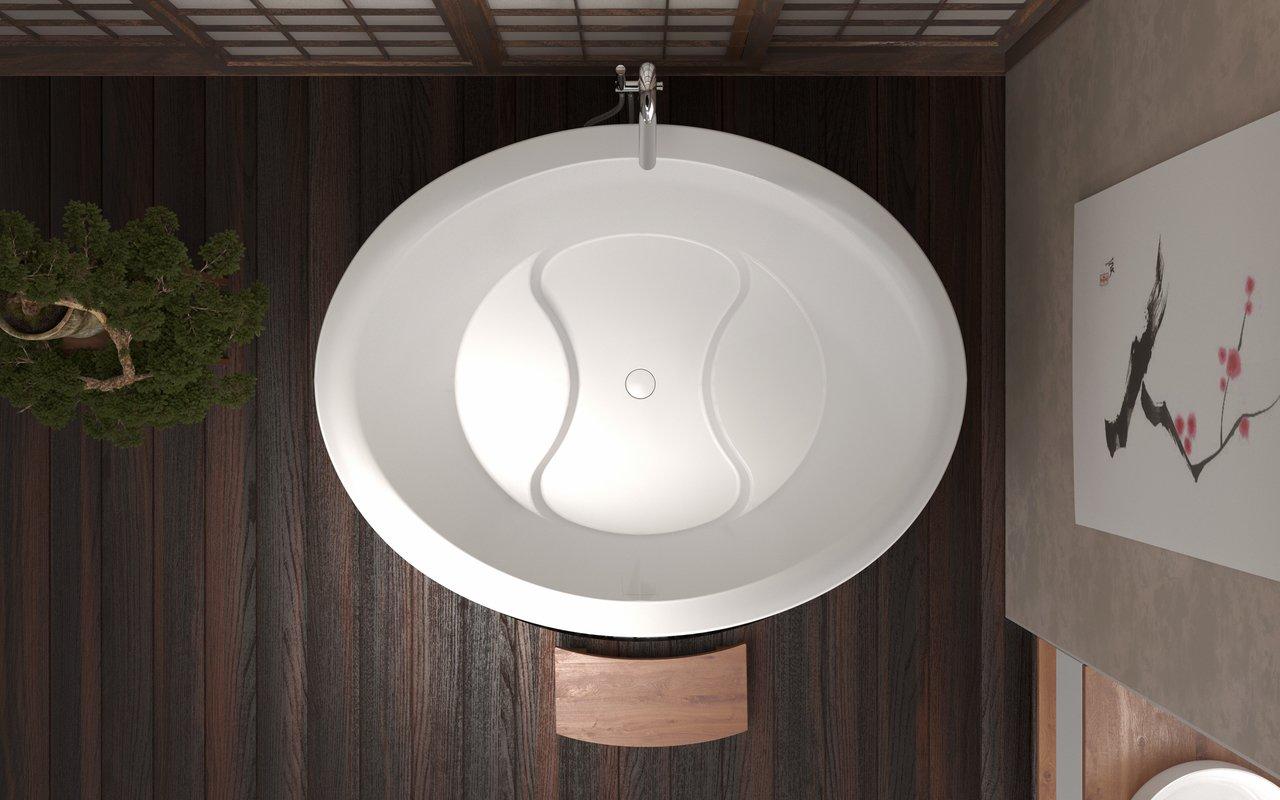 True Ofuro Duo Freestanding Stone Japanese Soaking Bathtub 04 (web)