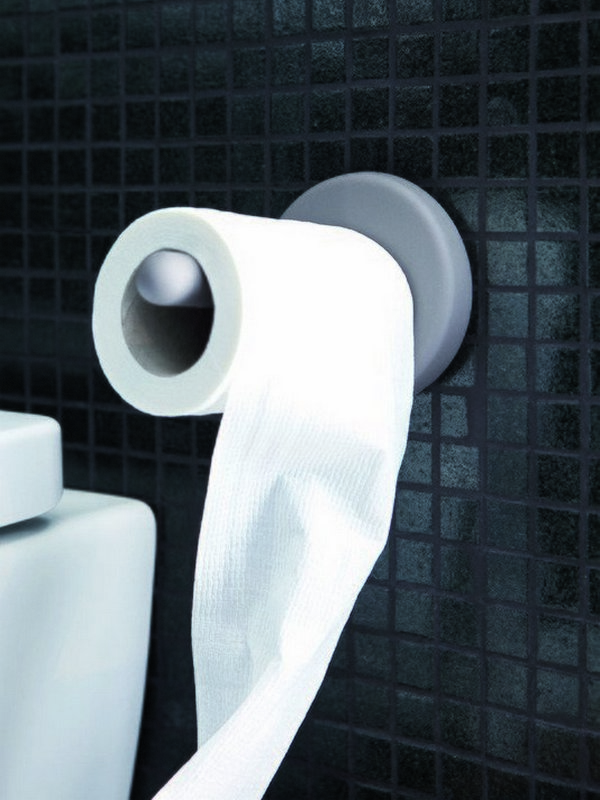 Uno Self Adhesive Wall Mounted Toilet Paper Roll Holder 01 (web)
