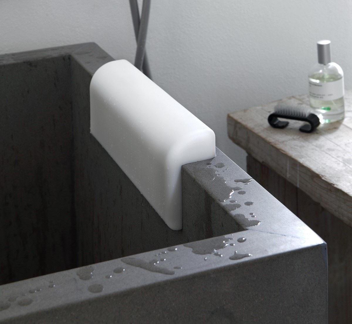 Aquatica Comfort Bath Headrest White