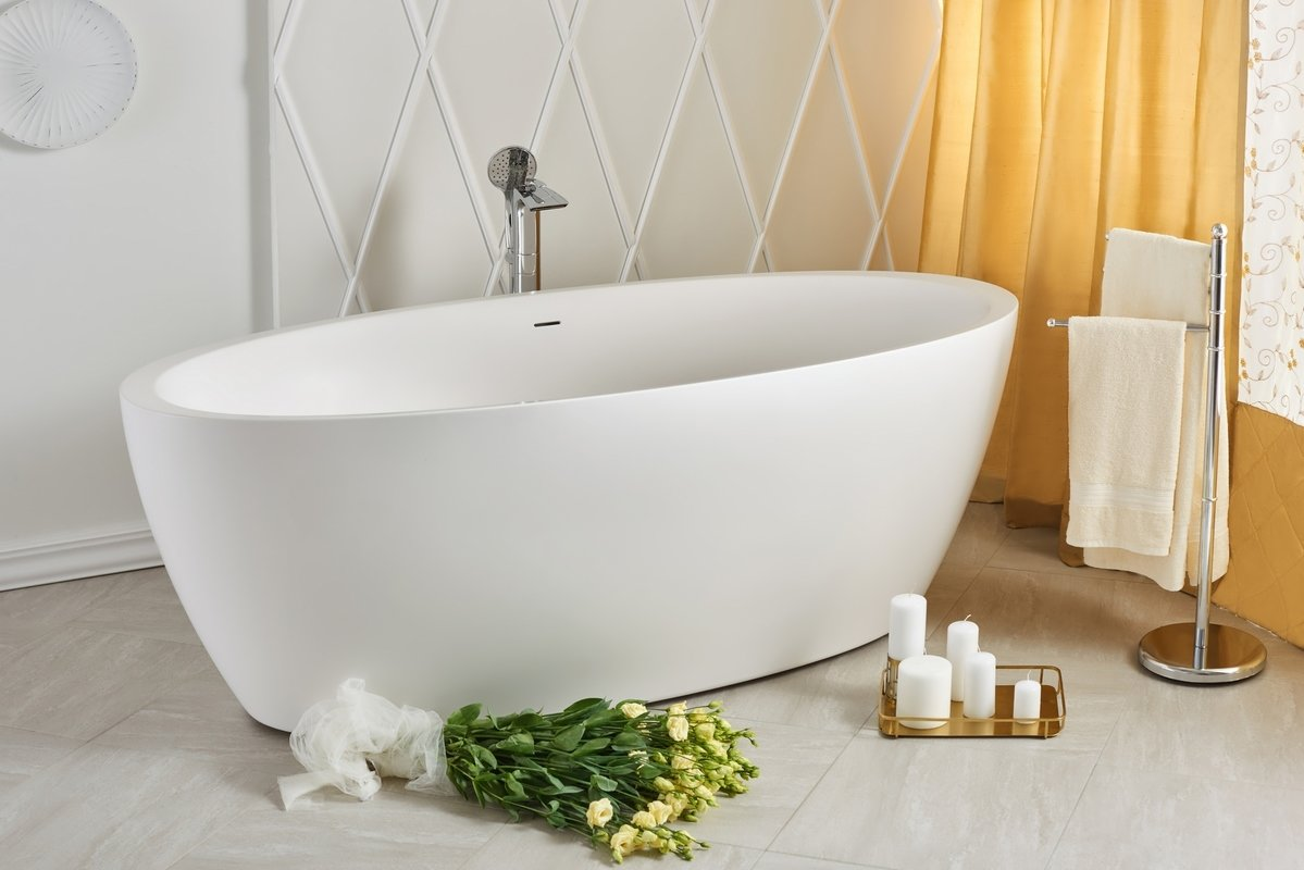5 bathrooms trends perfect for a bathroom remodel for How big is a bathtub