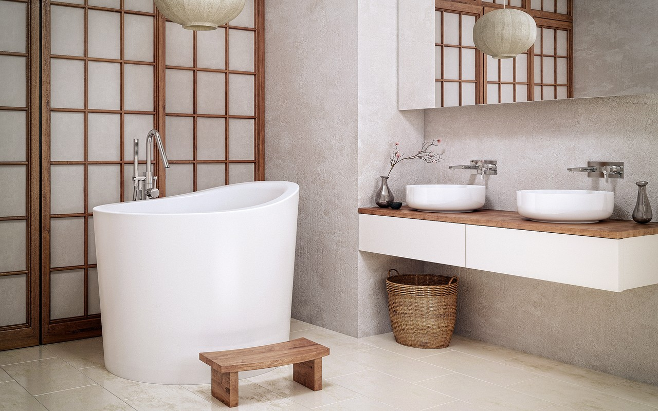 Bathing History in your Bathroom - Japanese Soaking Bathtub Ofuro