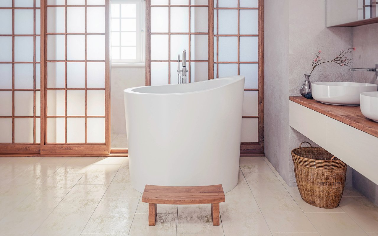 japanese soaking tub for small bathroom