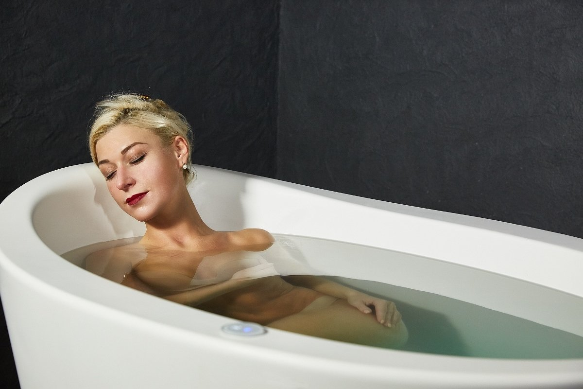 ofuro small heated bathtub