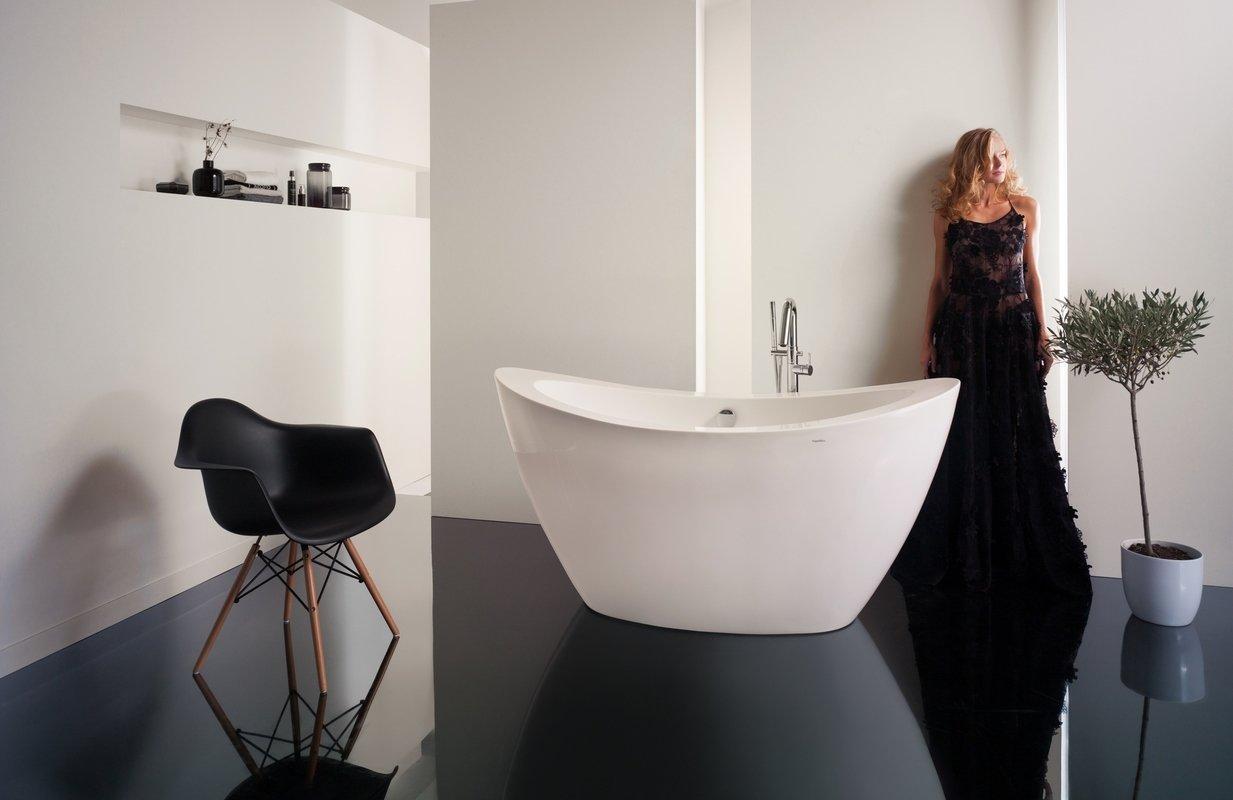 PureScape 148 Freestanding Acrylic Bathtub web
