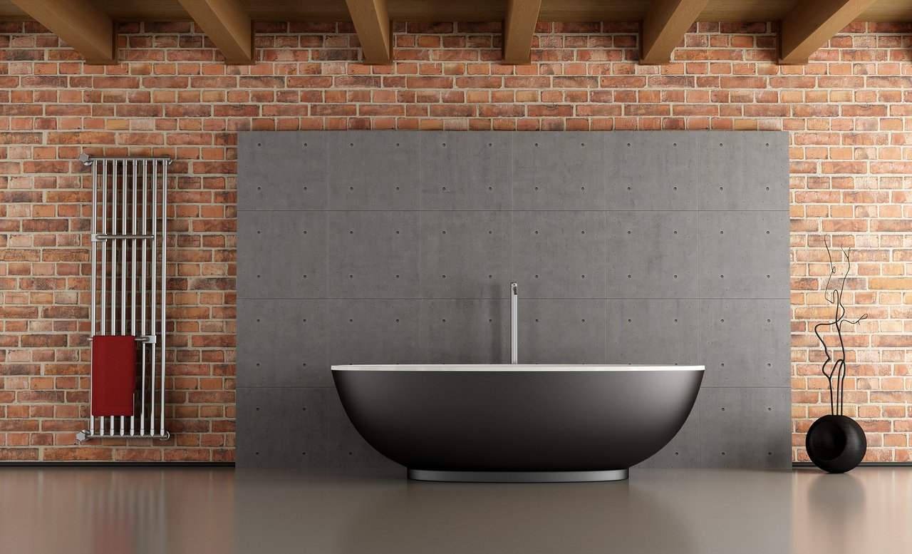 black freerstanding bathtubs