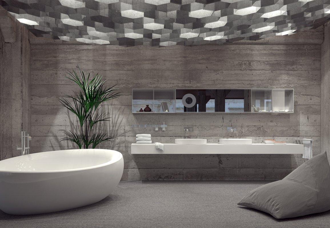 Intriguing Industrial Bathrooms. Aquatica Bath USA