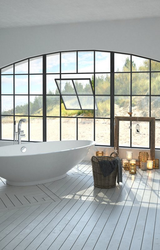 large stone bathtubs