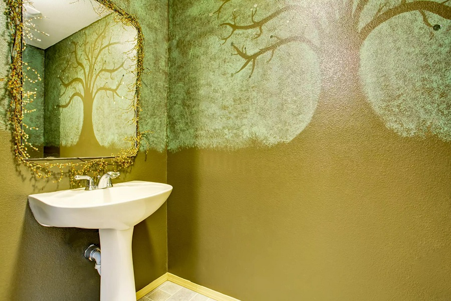 updating your bathroom walls for a simple but effective bathroom revamp 70753